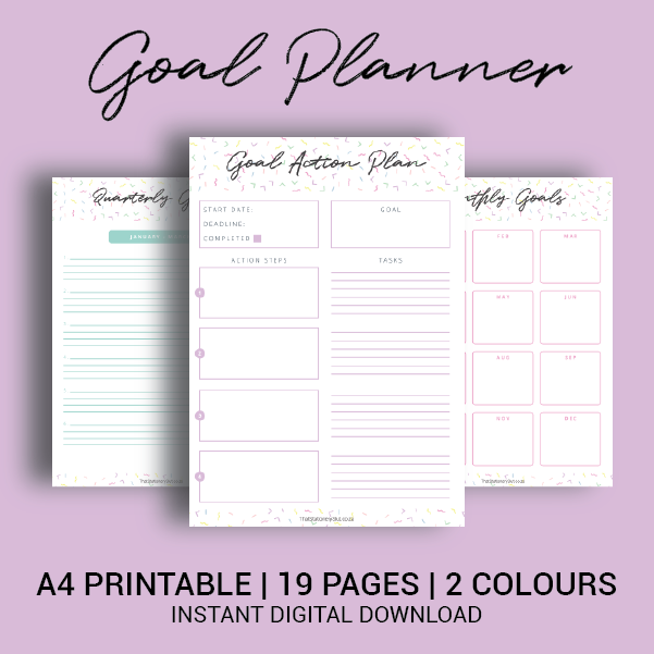 picture regarding Goals Printable named Function Creating Printable Package
